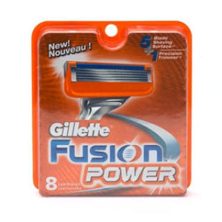 Gillette Fusion Power Refill Cartridges 1 Pack 8 Cartridges $30 Free Shipping Worldwide