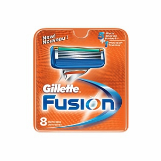 Gillette Fusion Refill Cartridges 1 Pack 8 Cartridges $30 Free Shipping Worldwide
