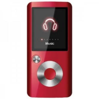Coby 4 GB Video MP3 Player with FM Radio (Red)