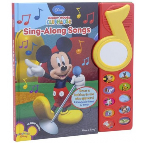 Mickey Mouse Clubhouse Sing-Along Songs Book