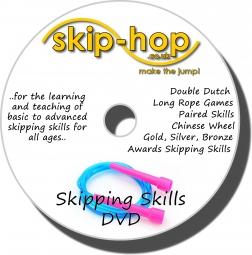 skip-hop skipping skills DVD - 47 skipping techniques and tricks