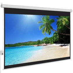 100-Inch 4:3 Electric Projector Projection Screen