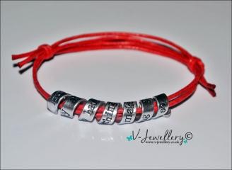 "Personalised ""Secret Message"" Wrap Bracelet"