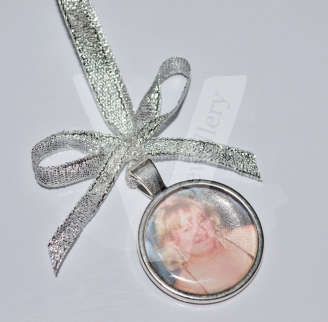 Personal Large Photo Charm Hanging Keepsake