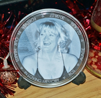 Personalised XL Photo Plaque with Stand