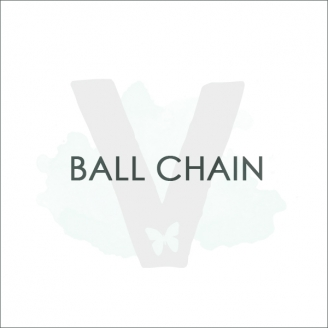 ADD ON'S: Stainless Steel Ball Chain