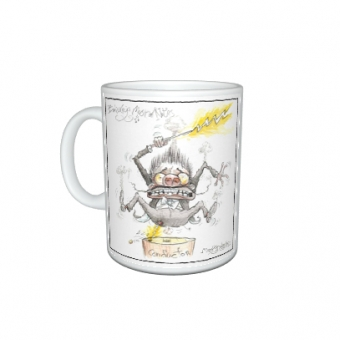 "Mark Bardsley musical cartoon mug collection ""Conductor"""