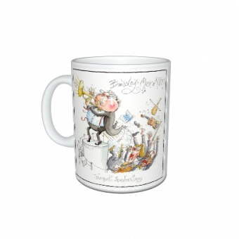 "Mark Bardsley musical cartoon mug collection "" Trumpet Involontary"""