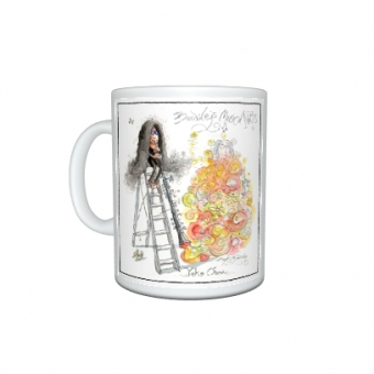 "Mark Bardsley musical cartoon mug collection ""Yoko oboe"""