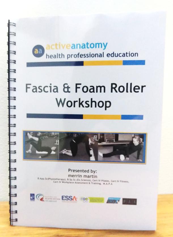 fascia foam roller distance education workshop manual rh activeanatomy1 miiduu com Workshop Manuals Oilfield Well Testing Chamberlain Garage Door Opener Manual