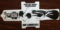 """Kay Lawrence """"Carrying Her Thighs, Her Back"""" c30"""