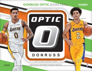 2017-18 Donruss Optic Basketball PYT Case Break #1