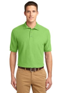 """TALL"" Port Authority® Mens Tall Silk Touch™ Short Sleeve Polo"