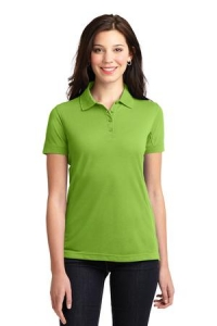 Port Authority® Ladiess 5-in-1 Performance Pique Short Sleeve Polo