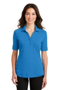 Port Authority® Ladies Silk Touch™ Interlock Performance Polo