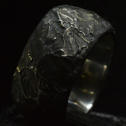 Ring of Power • .925 Sterling Silver • Skull Ring •