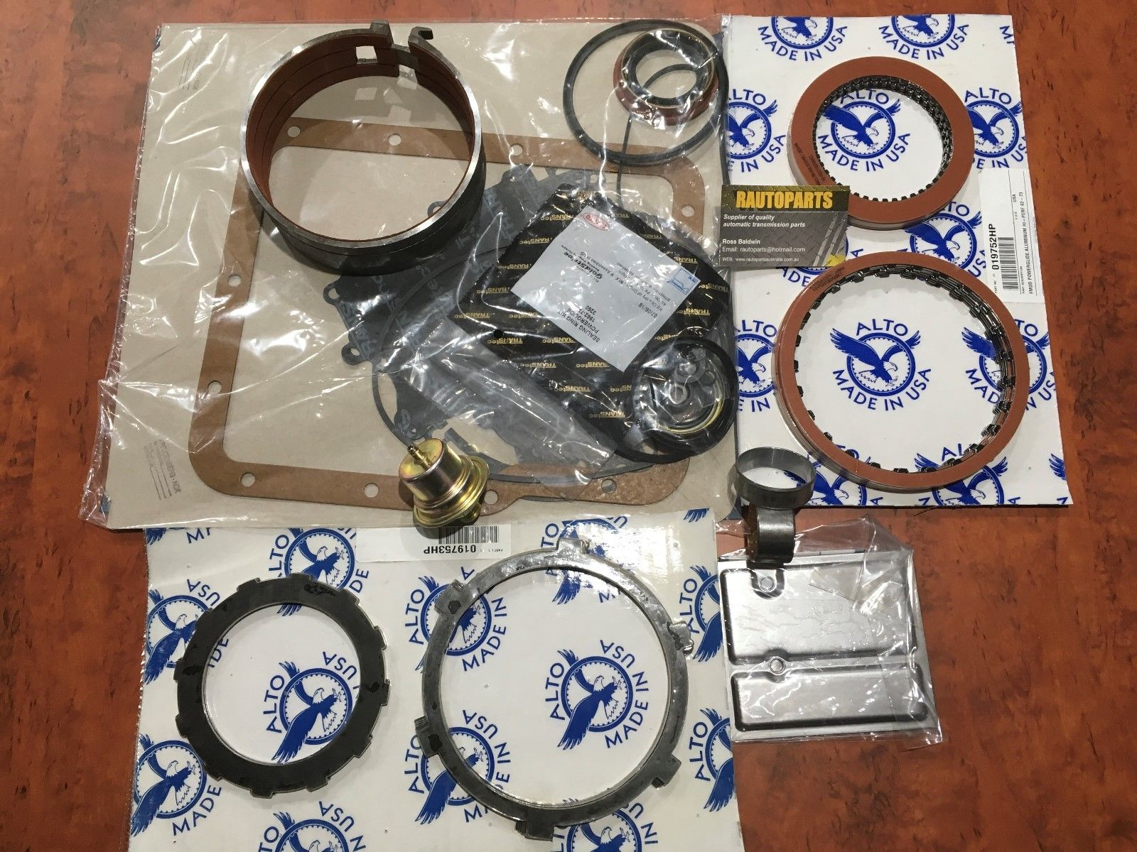 Powerglide Automatic Transmission High Performance Rebuild Kit Chev