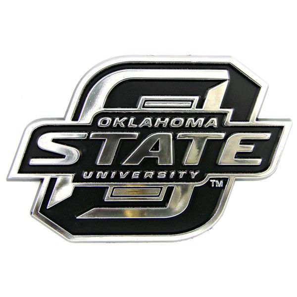 NCAA OKLAHOMA STATE COWBOYS AUTO EMBLEM