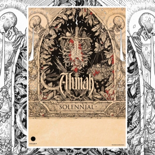 Alunah Hand Numbered, Signed Limited Edition A3 Poster | Solennial Album Artwork