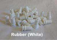 x2,Cable Grommet, Cable Exit Rubber, White colour