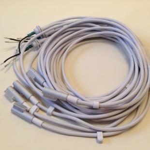 x5, Macbook Adapter DC Cord, L Shape Aluminium Head, Magnet pin, 85w,60w,45w