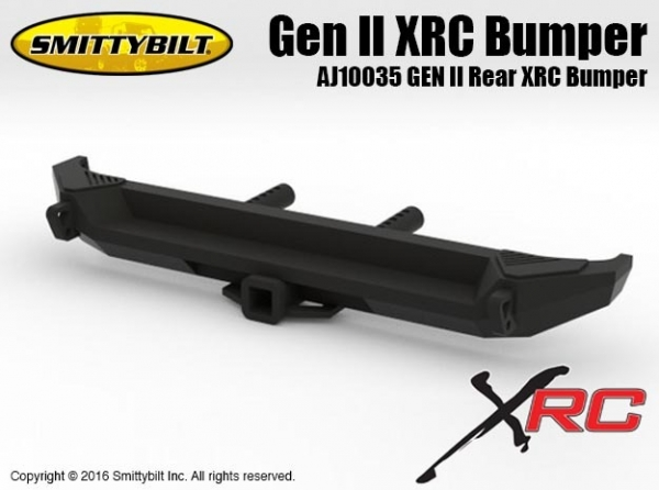 Knight Customs Smittybilt Gen II Rear XRC Bumper for Axial scx10 scx 10 AJ10035