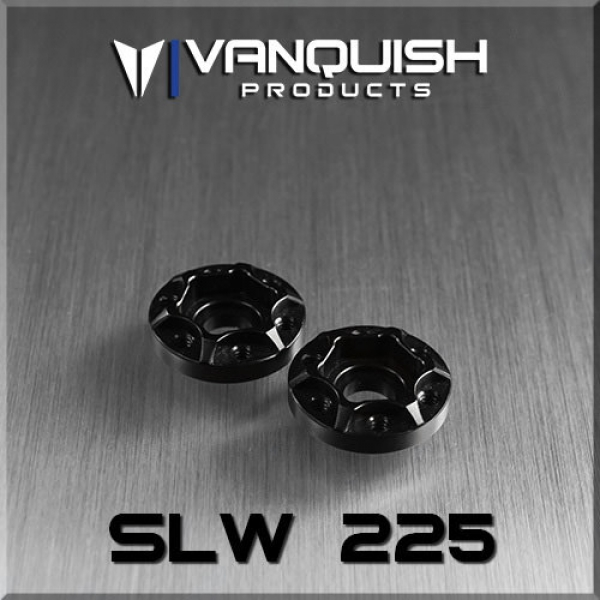 Vanquish Products  VPS07111 SLW 225 WHEEL HUB BLACK ANODIZED
