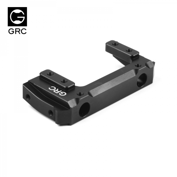 GRC 7075 Alu. Servo Relocation & Bumper Mount Short Version SCX10 II #GAX0028ABL