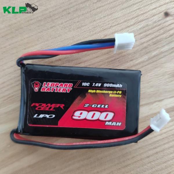 豹牌 SCX24 90081 900mah 10C 7.4V 1/24专用 锂电池 9002S