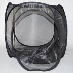 Large pop up 50cm cube cage made from fine mesh net. Available immediately.