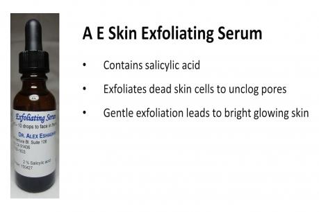 A E Skin Exfoliating Serum