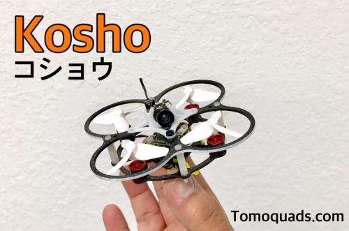 Kosho  コショウ   Tiny Whoop size brushless quad