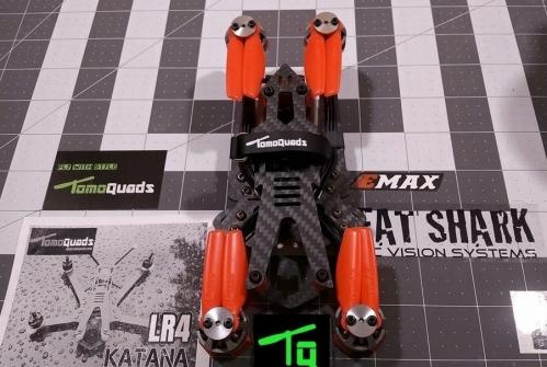 LR4 - Katana 刀   Foldable  Frame Kit