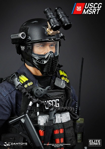【DAMTOYS】 DAM_78016 アメリカ沿岸警備隊 海上保安即応部隊 ELITE SERIES U.S. COAST GUARD MSRT (MARITIME SECURITY RESPONSE TEAM)