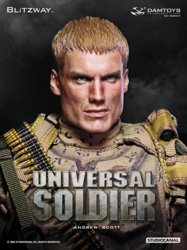【ブリッツウェイ/DAMTOYS】 DMS001 『ユニバーサル・ソルジャー』(Universal Soldier) アンドリュー・スコット Andrew Scott