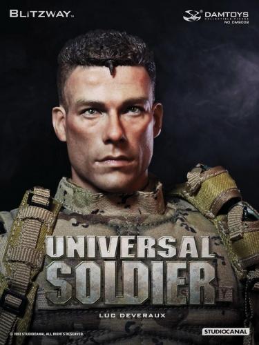 【ブリッツウェイ/DAMTOYS】 DMS002 『ユニバーサル・ソルジャー』(Universal Soldier) ルーク・ドゥブロー Luc Deveraux