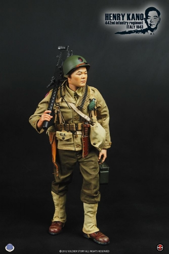 【Soldier Story】SS059 米陸軍 第442連隊戦闘団 日系人部隊 ヘンリー・カノウ WWII 442nd Infantry Regiment ITALY 1943