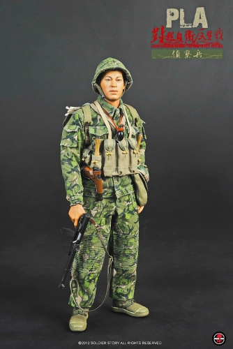 【Soldier Story】 SS070 PLA偵察兵 中国人民解放軍 (中越戦争1979年) PLA Counterattack Against Vietnam in Self-Defense