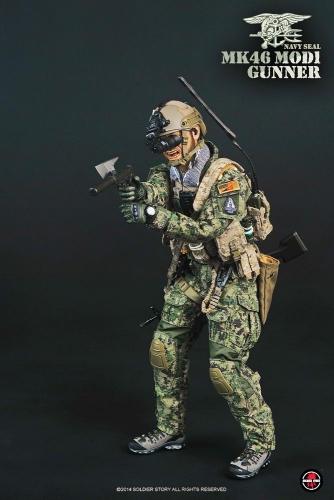 【Soldier Story】SS081米海軍特殊部隊 ネイビーシール MK46MOD1 ガンナー NAVY SEAL MK46 MOD1 GUNNER