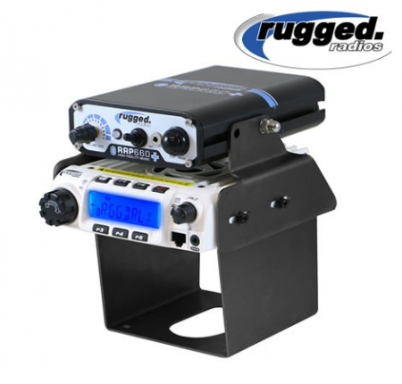 Rugged Radio and Intercom Mount for Can-Am Maverick X3