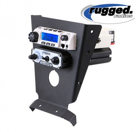 Rugged Radio and Intercom Mount for Can-Am Maverick X3