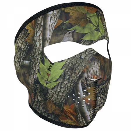 NEOPRENE FULL FACE MASK- Forest Camo