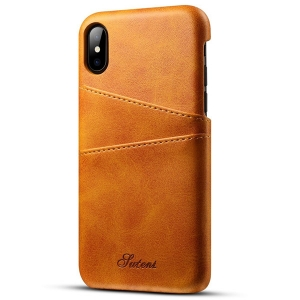 iPhone X ケース おしゃれ iPhoneX ケース 革 高級 カード収納 アイフォンX 人気6色