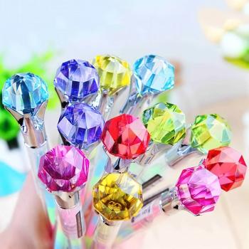 鑽石頭彩色中性筆