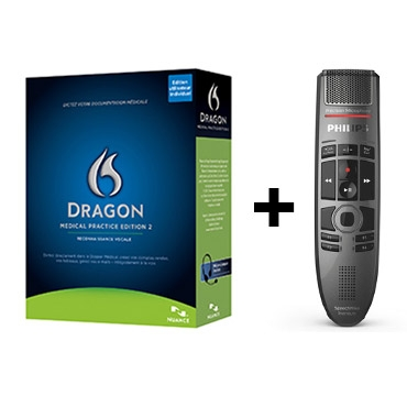Dragon Medical 2 - French and Philips' SpeechMike Premium Touch