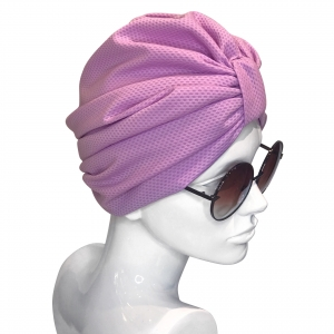 Candy Violet Facture Turban