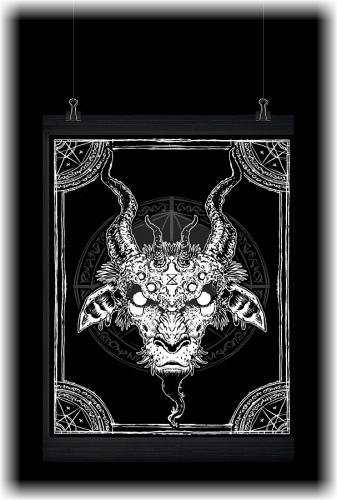 [x] Print 02 - Demon by Spiderdust