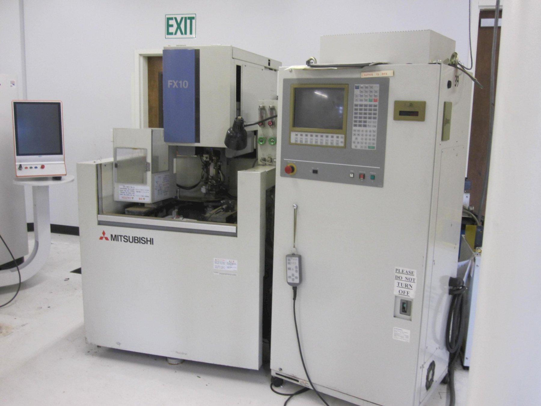 三菱FX-10型线材电火花加工