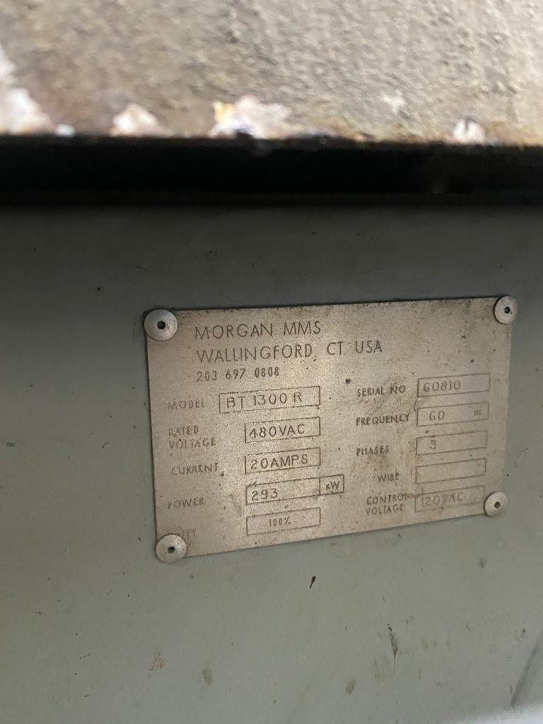 摩根英国电信1300 r 1300#燃气倾斜炉,带燃气系统和控制