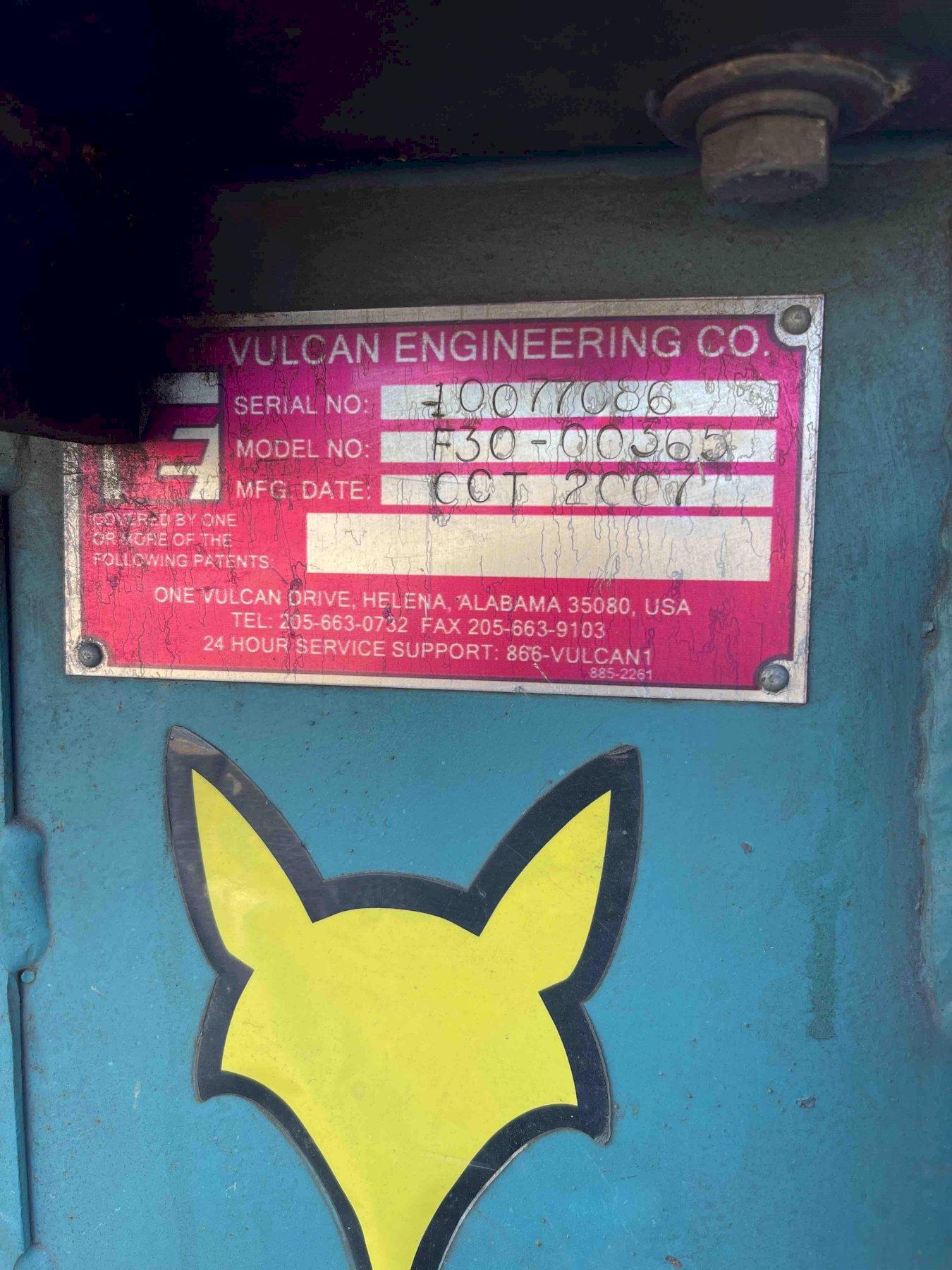 """狐狸 16""""封闭切割的锯型号F30-00365, 20HP, S/N10077C86"""